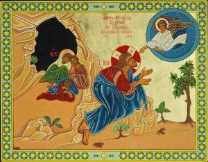Gesù al Getsemani - Il conforto dell'Angelo