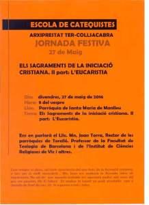 Escola Catequiates 27.05.2016